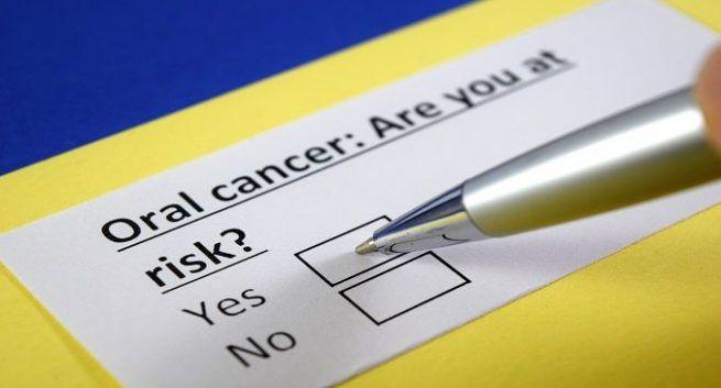 Oral cancer patient