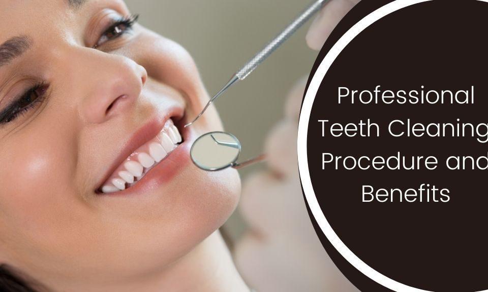 a woman having her teeth cleasing at wonder smile dental care pune